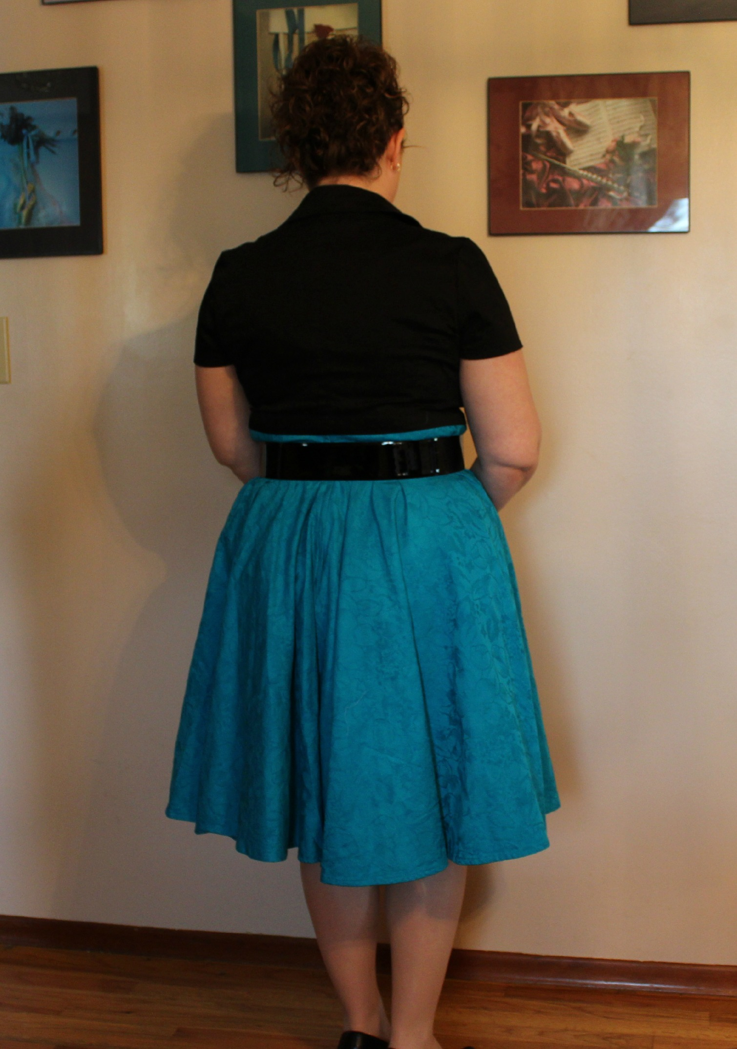 60's dress back