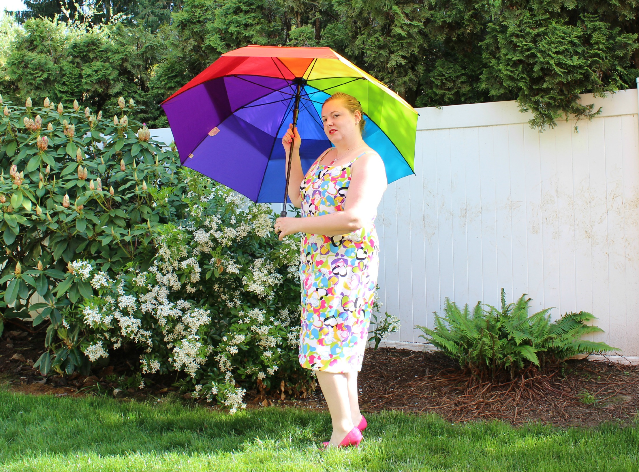Heart Dress with Umbrella 2