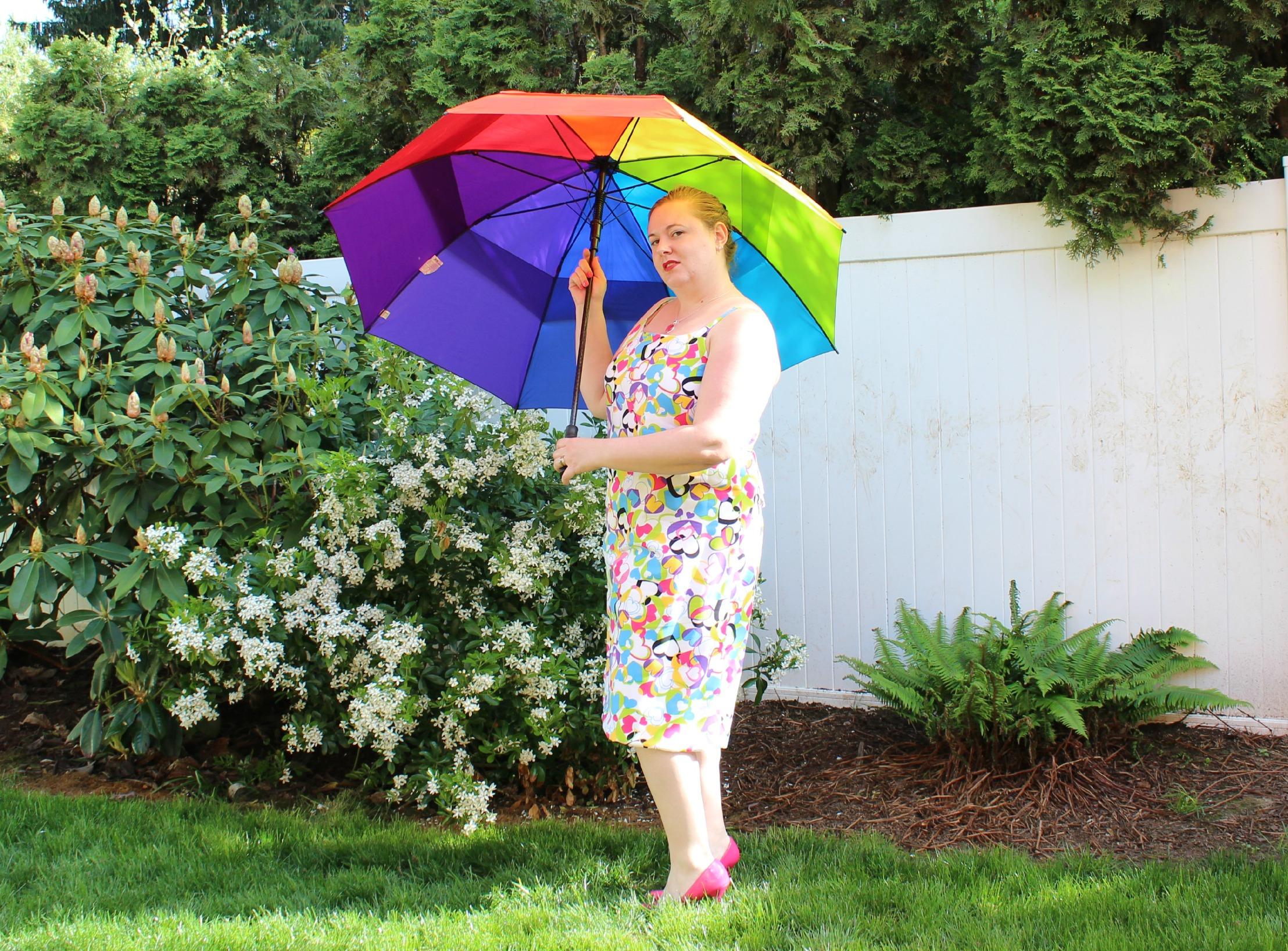 Heart Dress with Umbrella 2