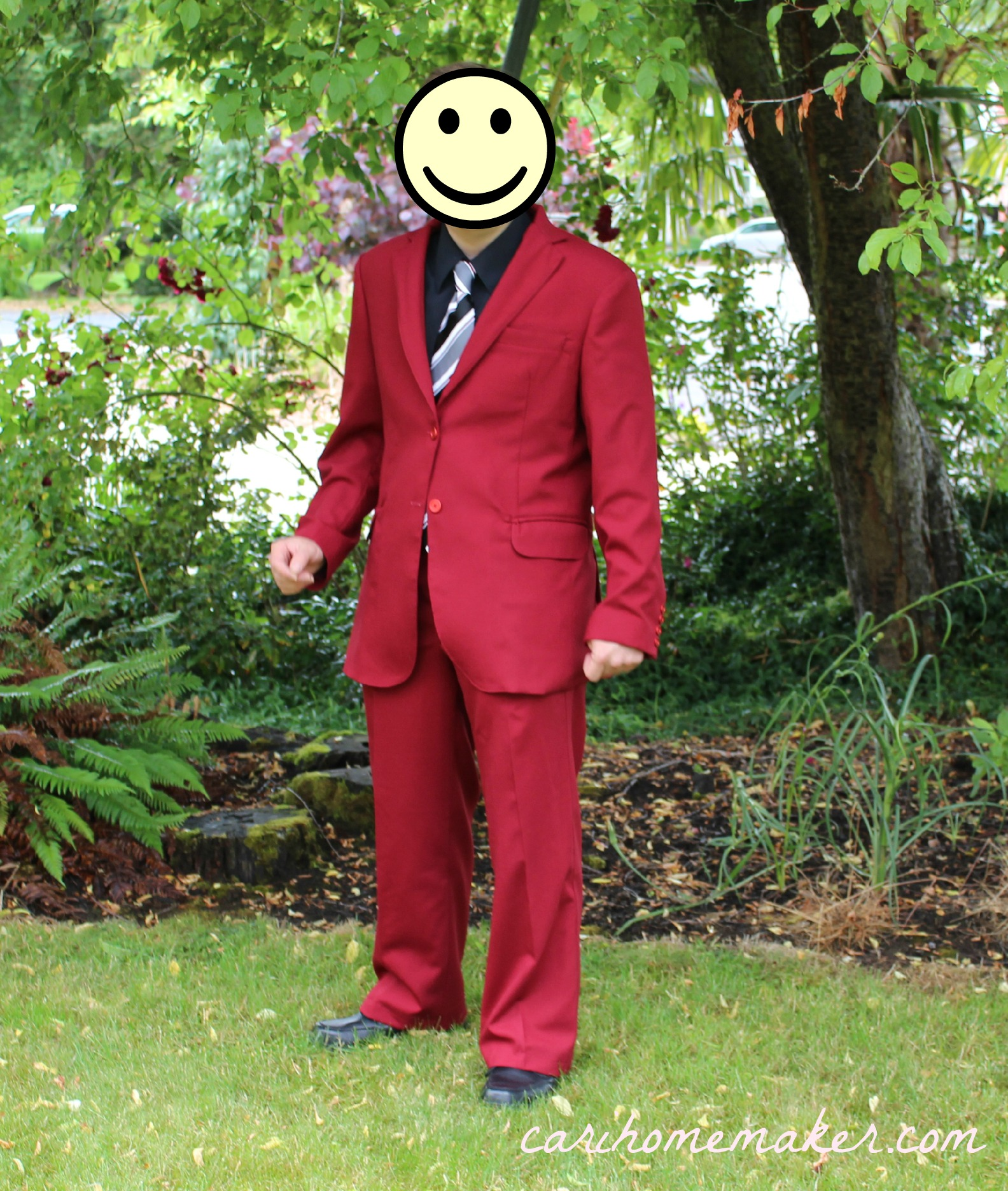 Red Suit Front 2