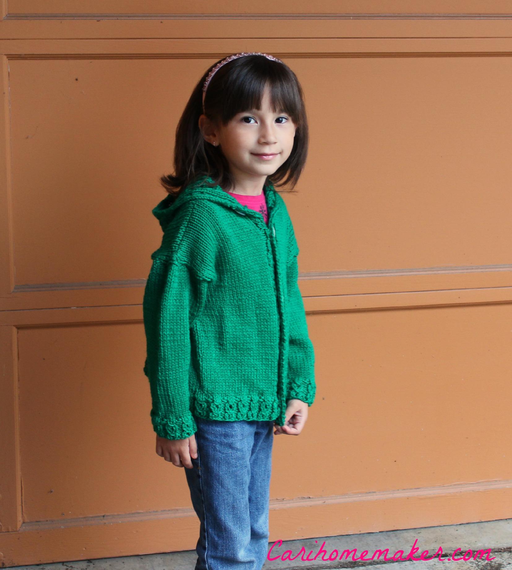 Green Sweater Side