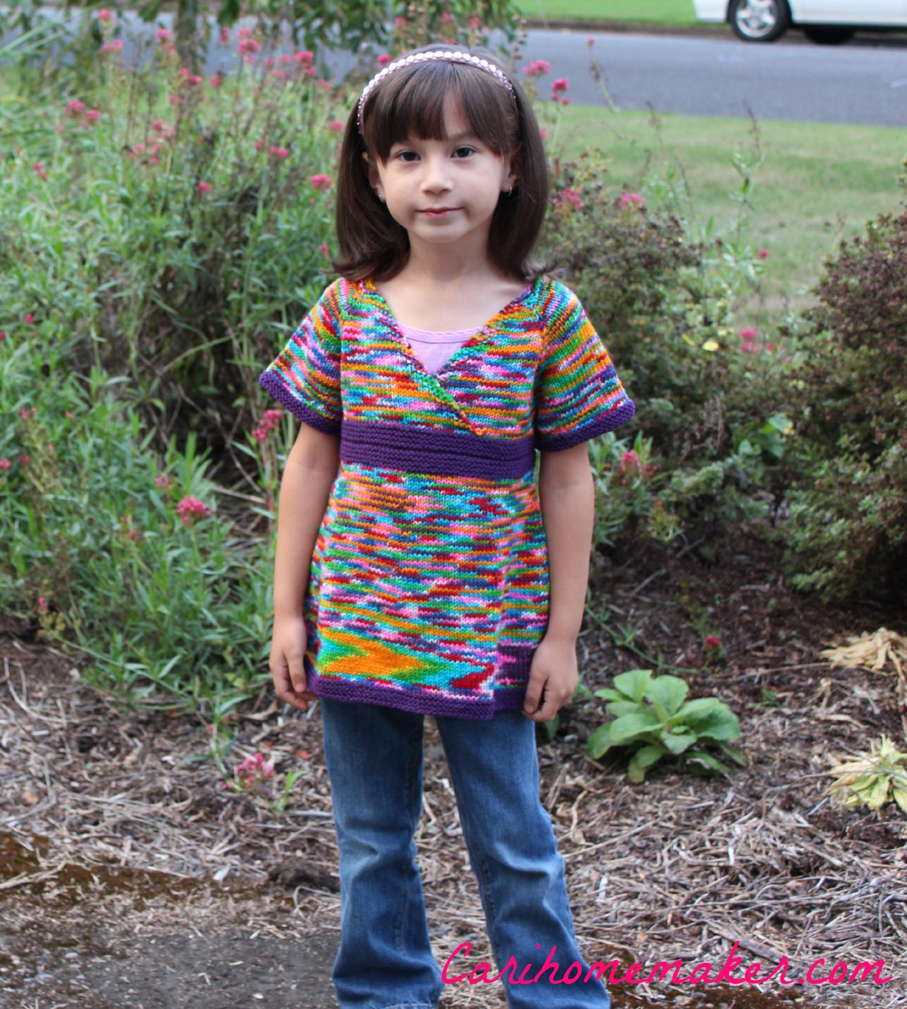 Rainbow Sweater Front 1