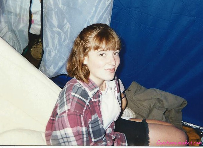 Camping 1995 in Flannel cropped