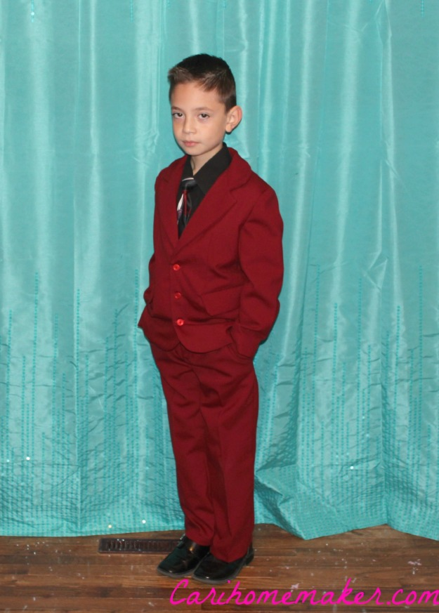 Romeo Red Suit Two