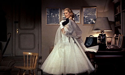 Grace Kelly in Rear Window.
