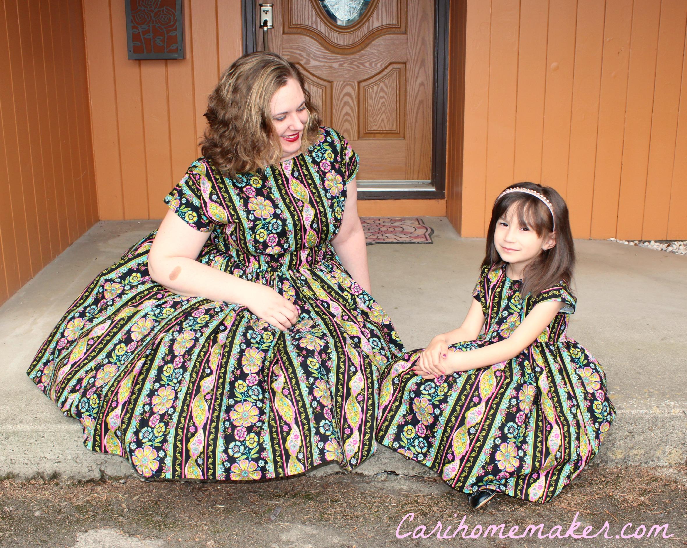 Twin Dresses 6