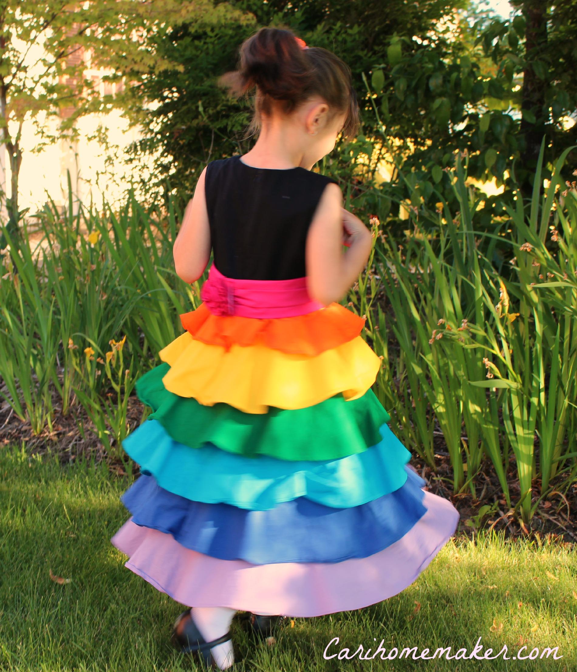 Rainbow Dress 3
