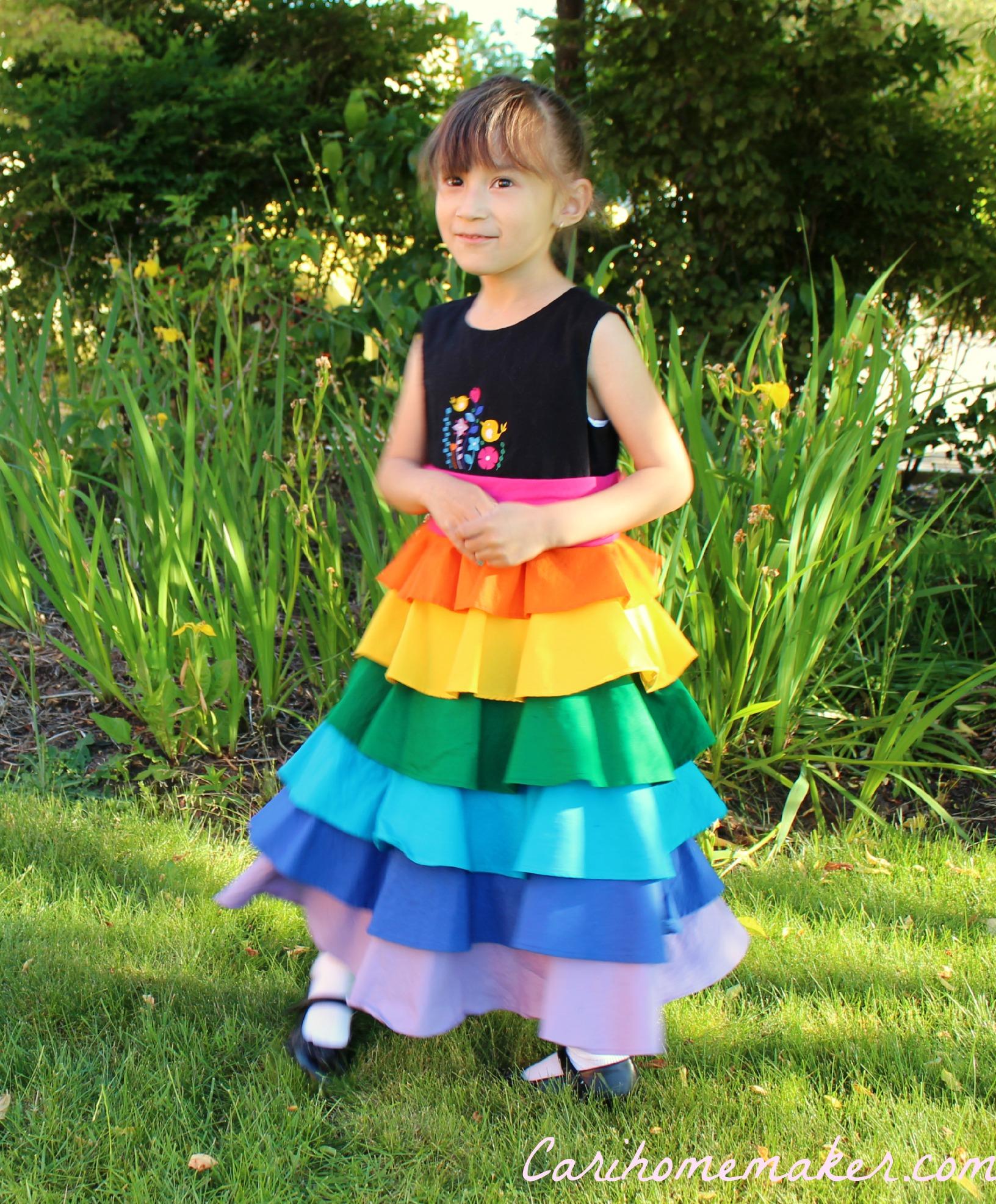 Rainbow Dress 4