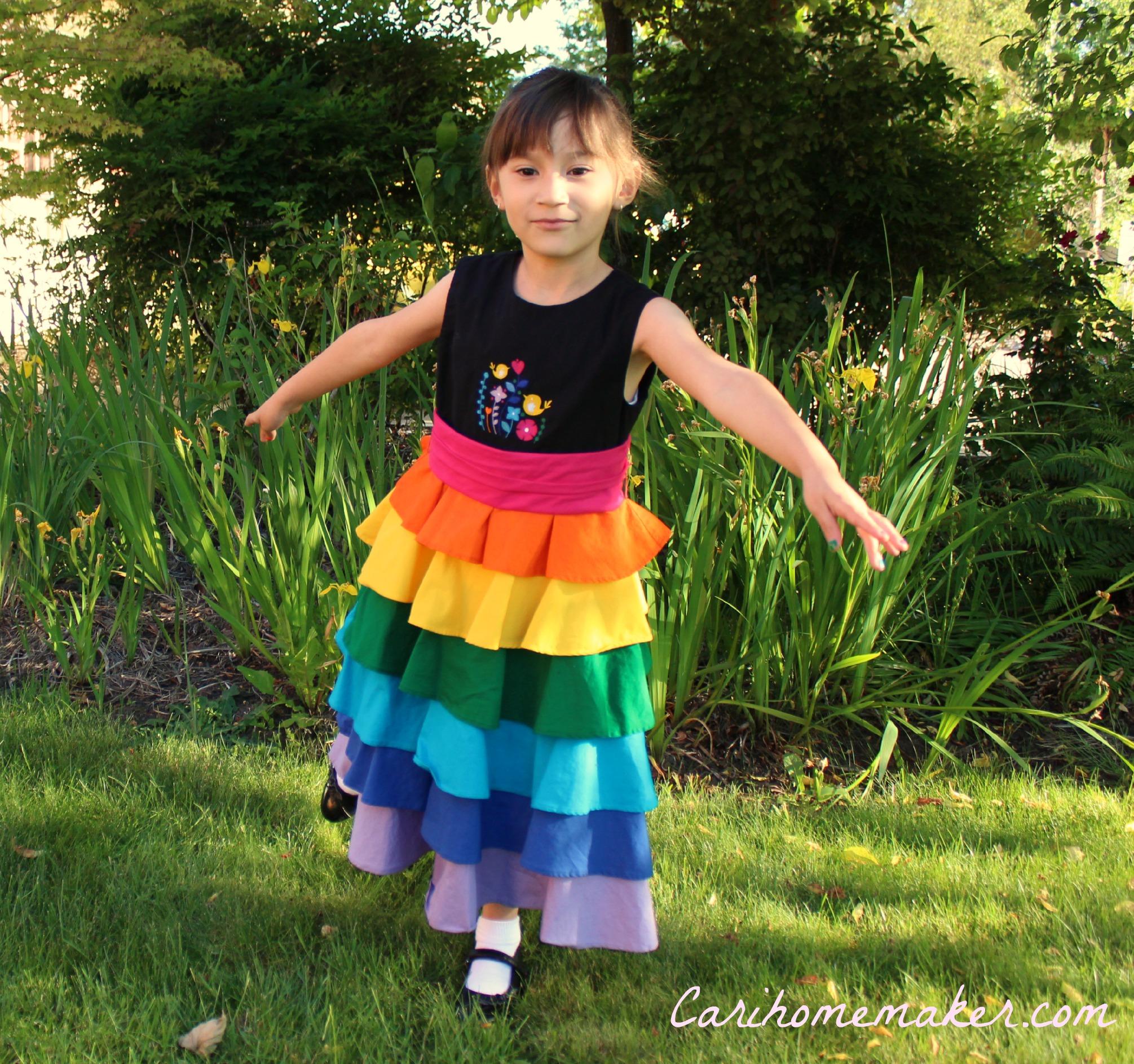 Rainbow Dress 7
