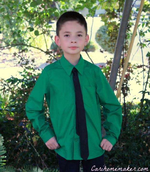 Green Shirt 1