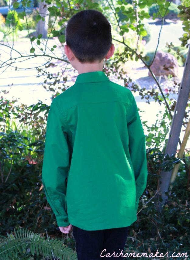 Green Shirt 2