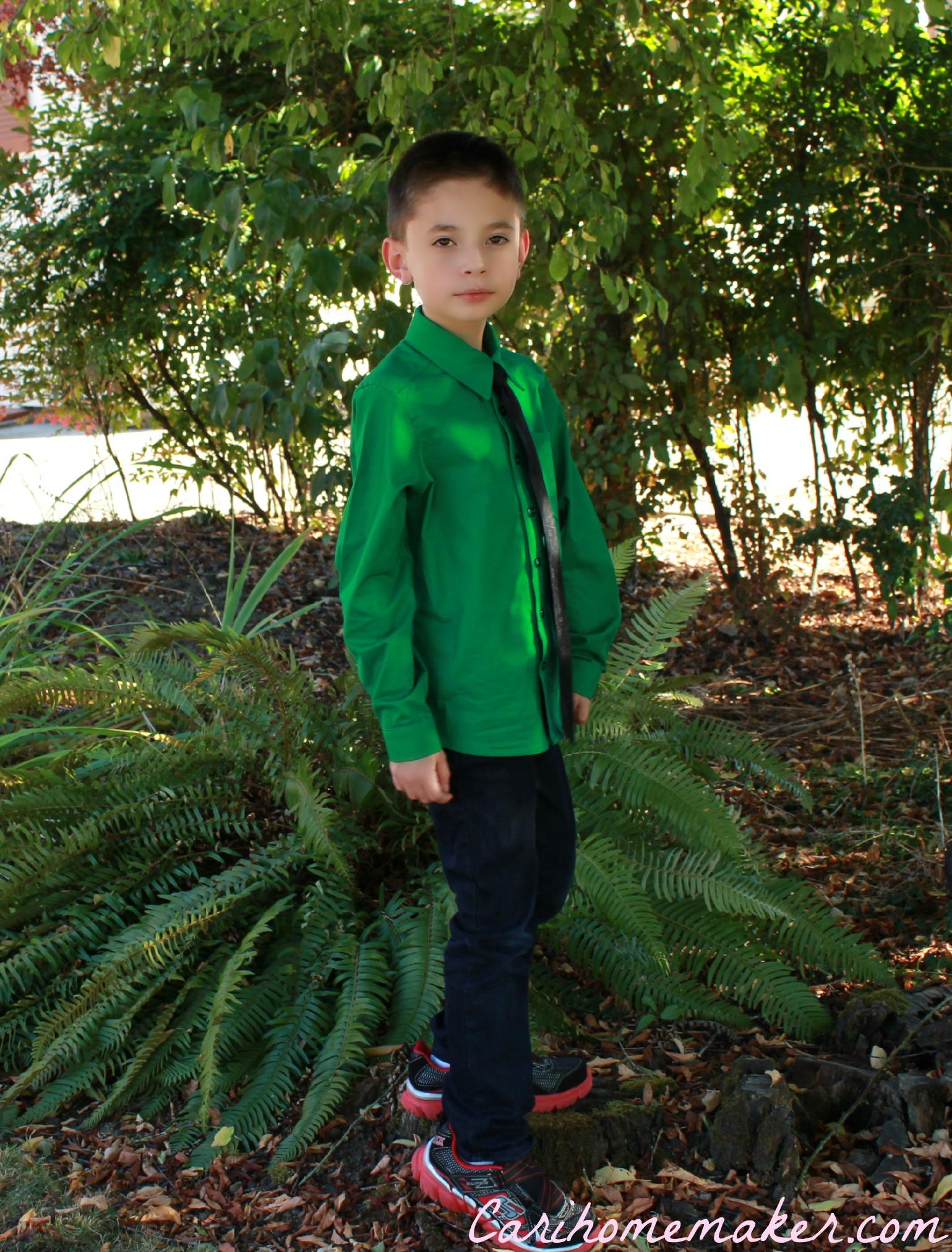 Green Shirt 3