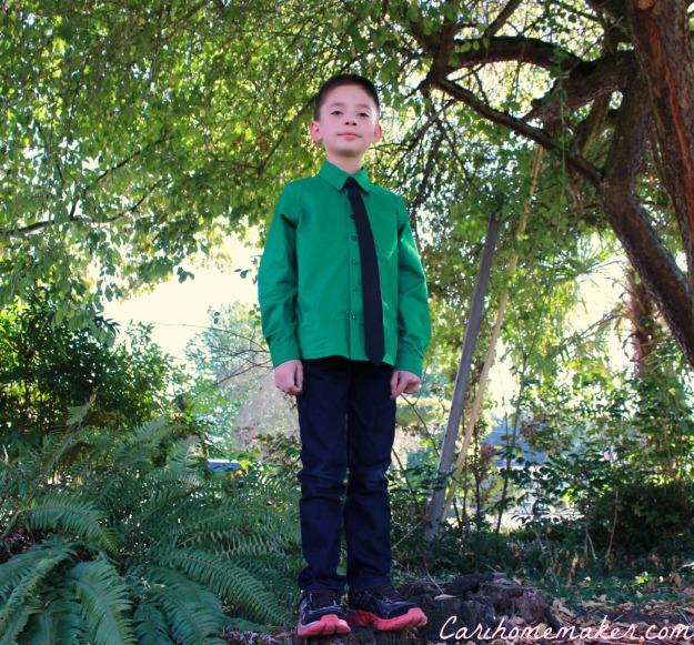 Green Shirt 5